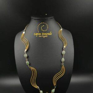 Collana Capim Dourado Eliza