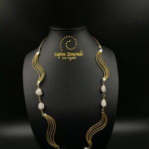 Collana Capim Dourado Clara